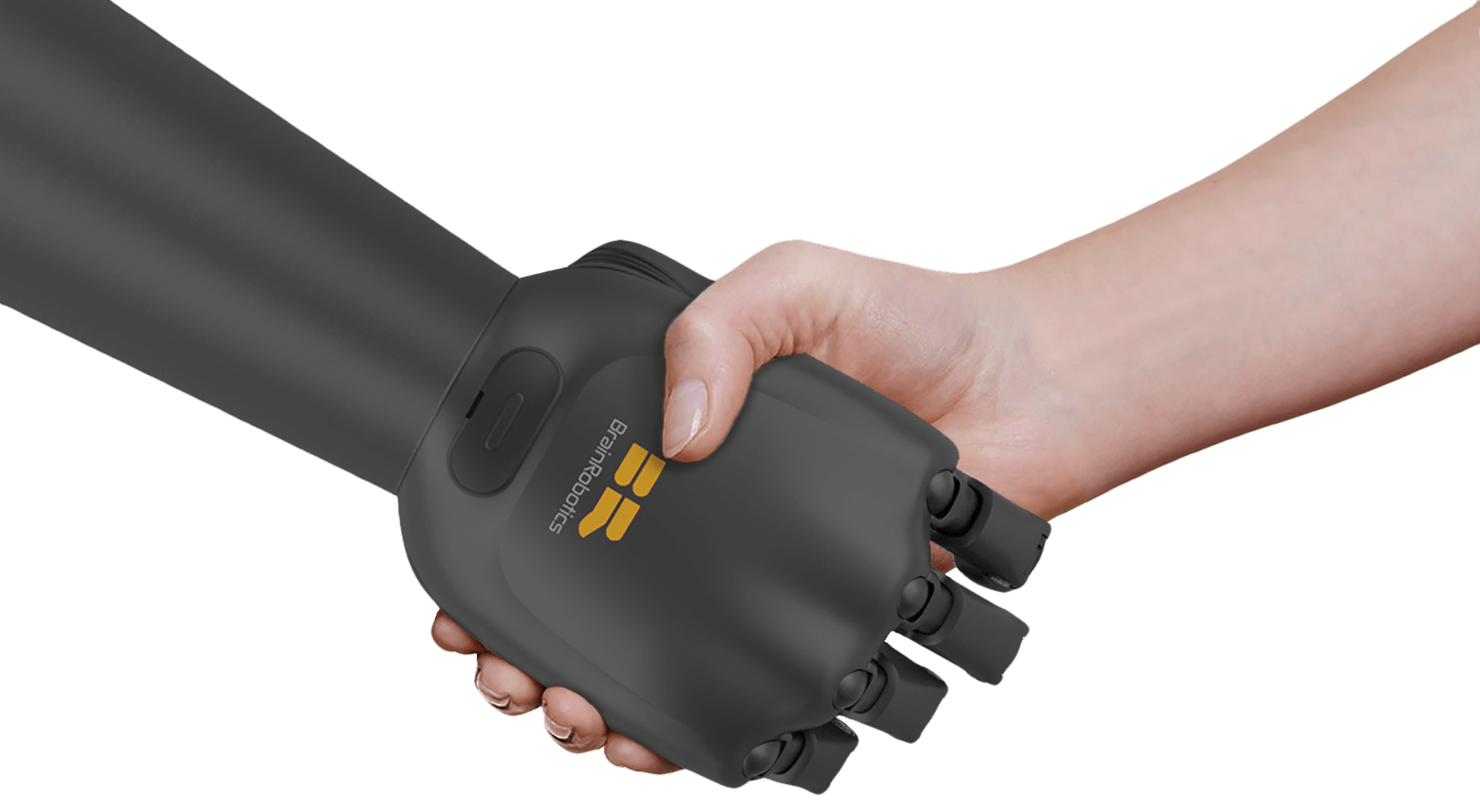 Natural movement robotic prosthetic hand